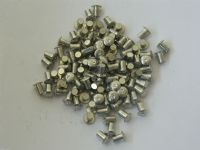 "100 x Solid Rivet 5/32"" Diameter Steel 1/4"" Long Part NSA5415-40-06 [H15]"
